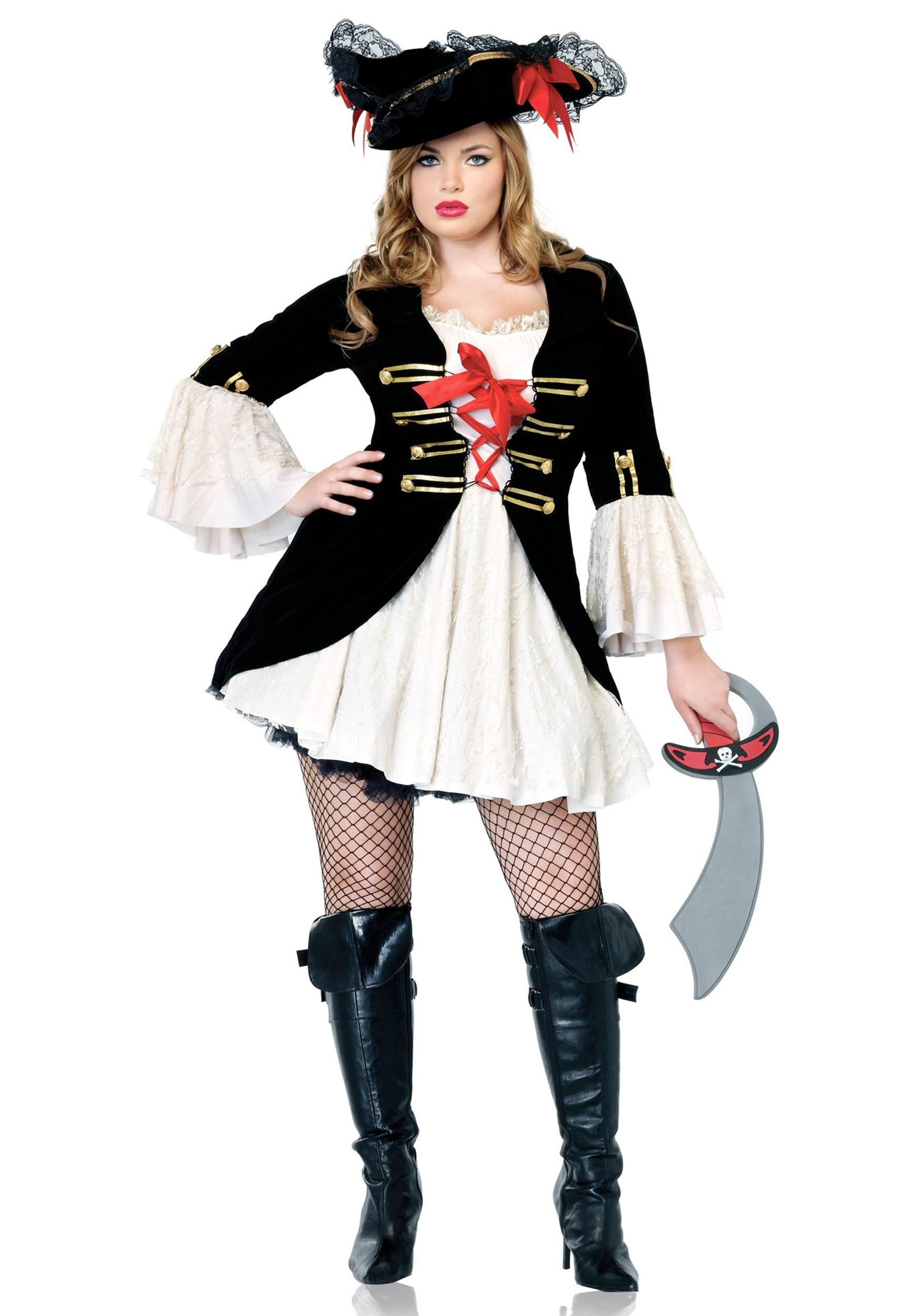 Plus Size Sexy Captain Swashbuckler Costume  sc 1 st  Halloween Costumes & Plus Size Sexy Captain Swashbuckler Costume - Halloween Costumes