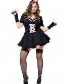 Plus Size Sexy Cat Costume, halloween costume (Plus Size Sexy Cat Costume)