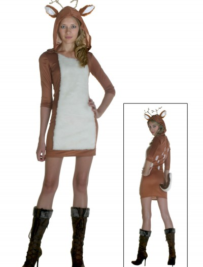 Plus Size Sexy Deer Costume, halloween costume (Plus Size Sexy Deer Costume)