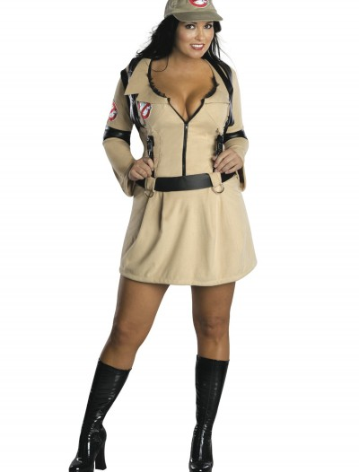 Plus Size Sexy Ghostbusters Costume, halloween costume (Plus Size Sexy Ghostbusters Costume)