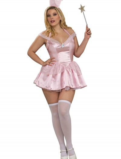 Plus Size Sexy Glinda Costume, halloween costume (Plus Size Sexy Glinda Costume)