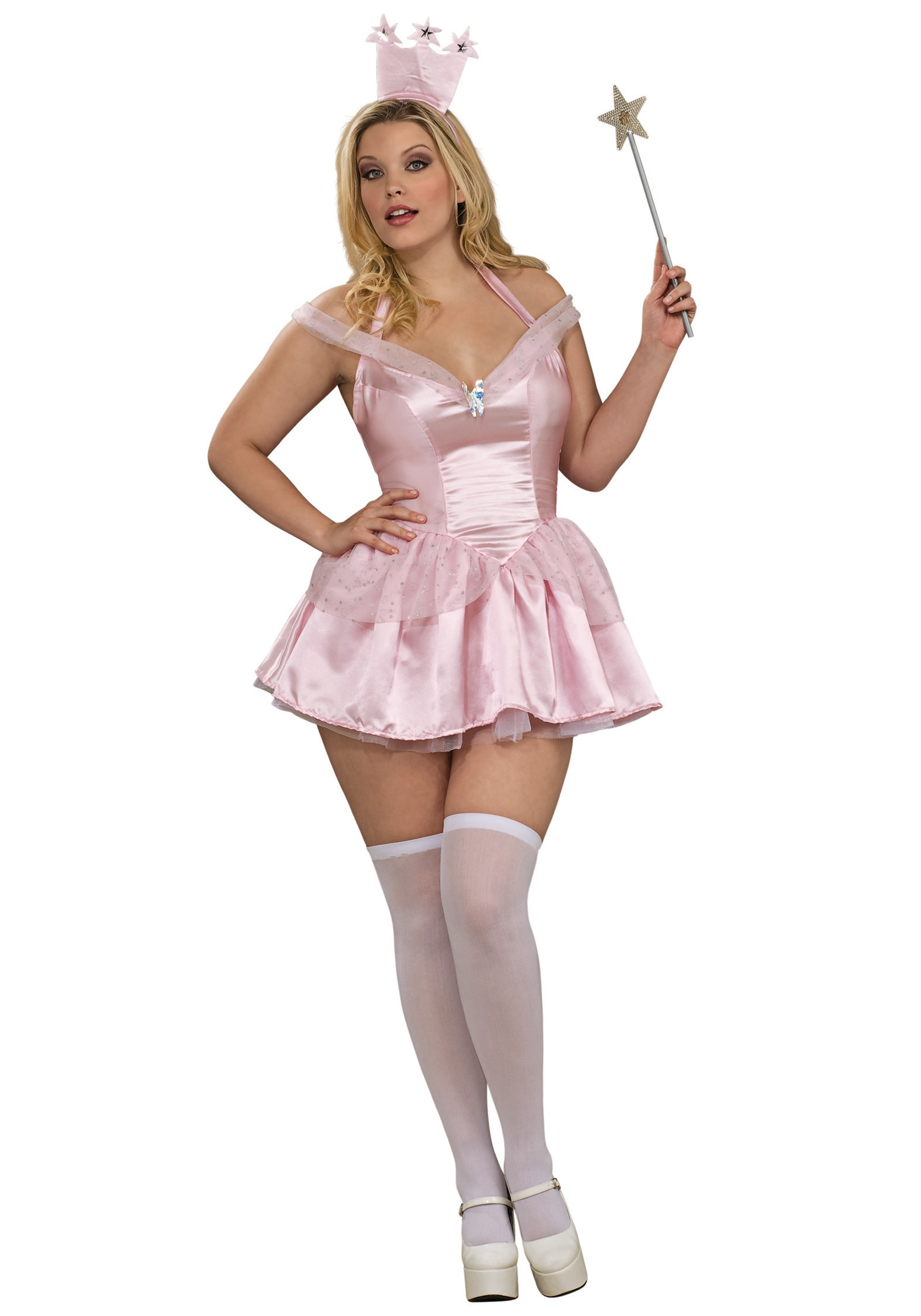 Plus Size Sexy Glinda Costume  sc 1 st  Halloween Costumes : witch costumes for plus size  - Germanpascual.Com