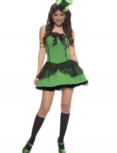 Plus Size Sexy Leprechaun Costume, halloween costume (Plus Size Sexy Leprechaun Costume)