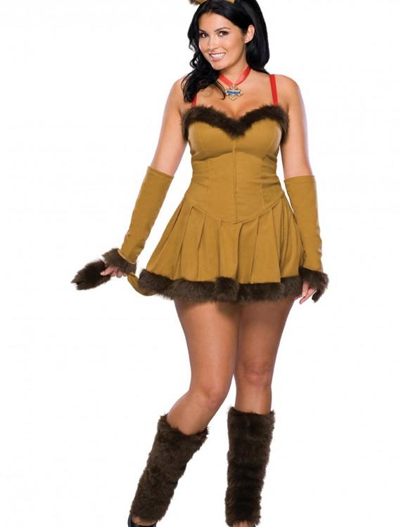 Plus Size Sexy Lion Costume, halloween costume (Plus Size Sexy Lion Costume)