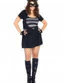 Plus Size Sexy Raccoon Costume, halloween costume (Plus Size Sexy Raccoon Costume)