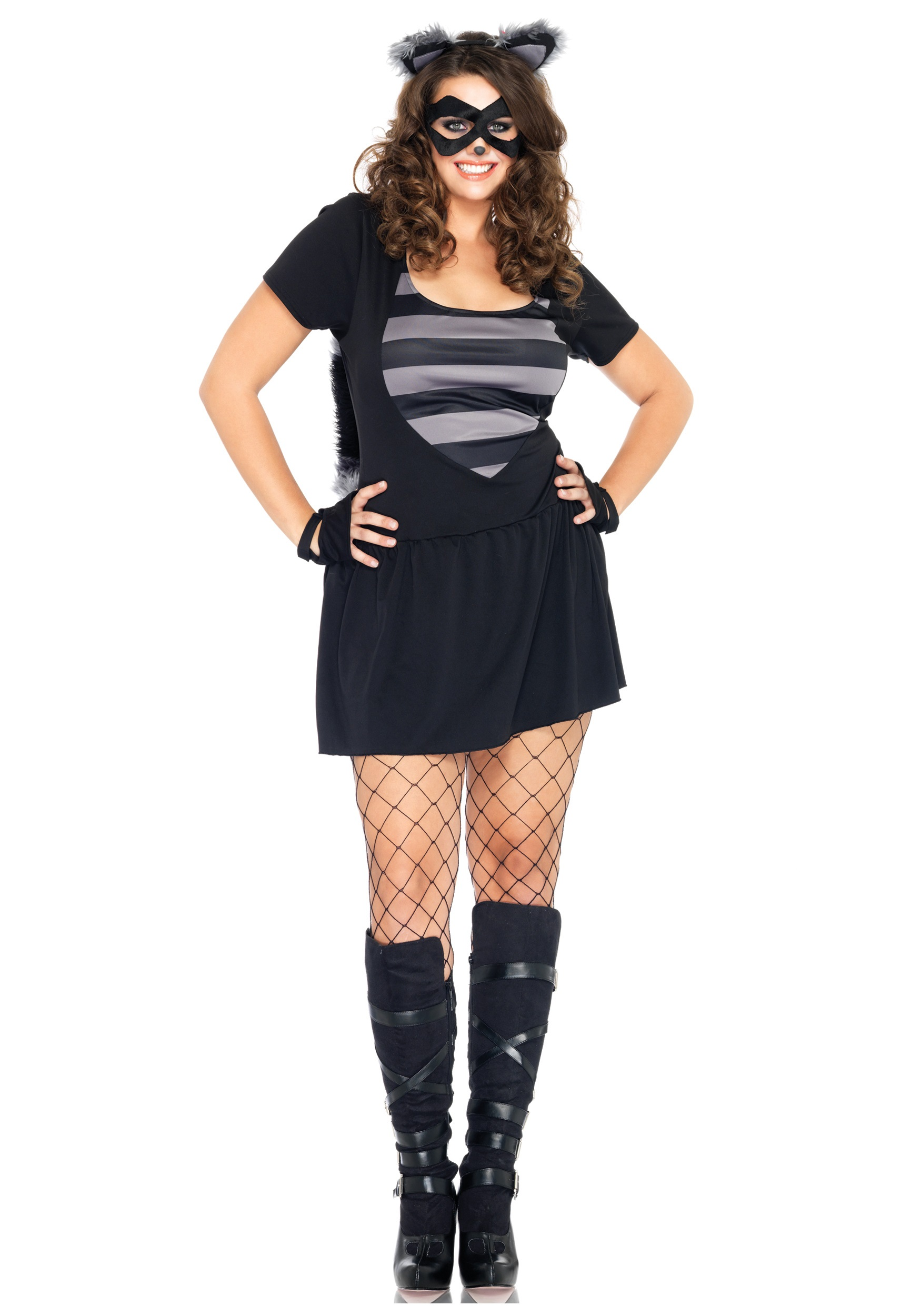 Plus Size Sexy Raccoon Costume  sc 1 st  Halloween Costumes & Plus Size Sexy Raccoon Costume - Halloween Costumes