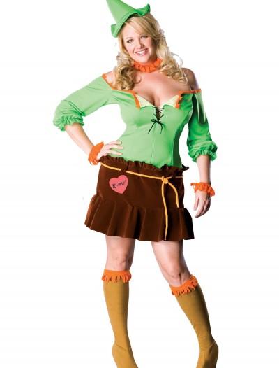 Plus Size Sexy Scarecrow Costume, halloween costume (Plus Size Sexy Scarecrow Costume)