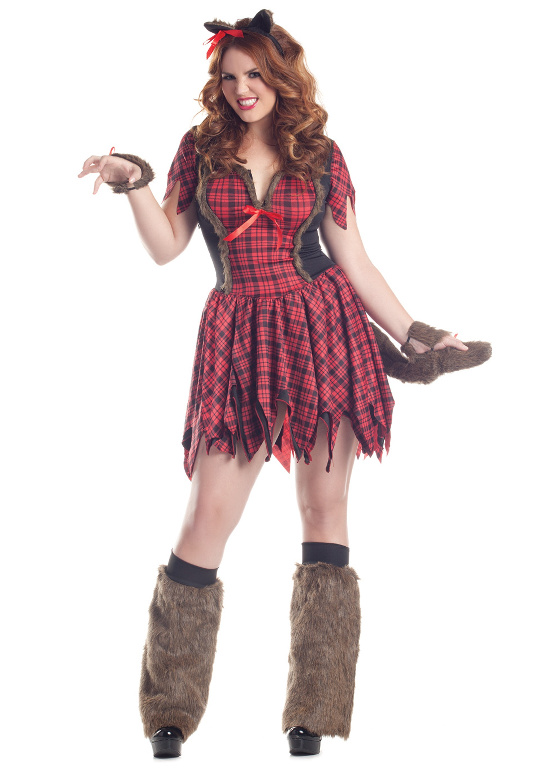 Plus Size Sexy Werewolf Costume  sc 1 st  Halloween Costumes : halloween costumes adult female  - Germanpascual.Com