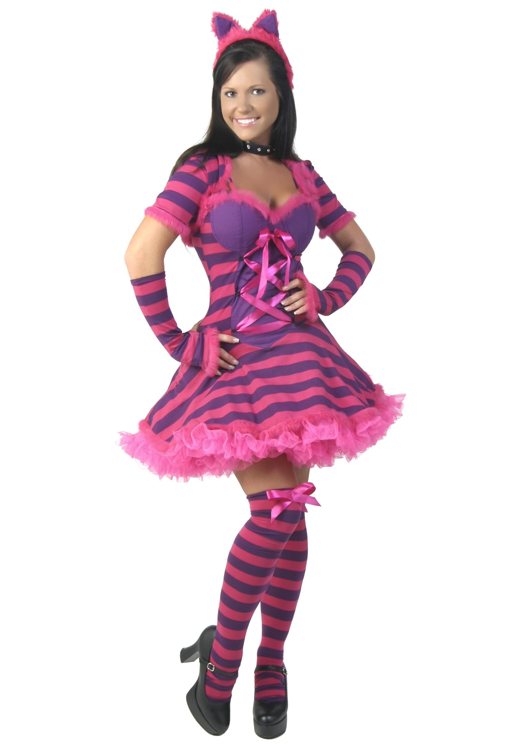 Plus Size Sexy Wonderland Cat Costume  sc 1 st  Halloween Costumes & Plus Size Sexy Wonderland Cat Costume - Halloween Costumes