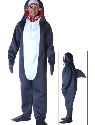 Plus Size Shark Costume, halloween costume (Plus Size Shark Costume)