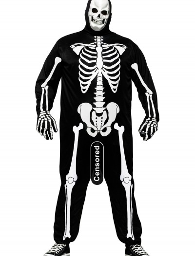 Plus Size Skele-Boner Costume, halloween costume (Plus Size Skele-Boner Costume)