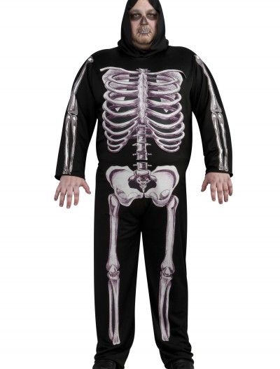 Plus Size Skeleton Costume, halloween costume (Plus Size Skeleton Costume)