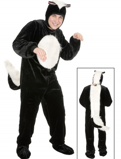 Plus Size Skunk Costume, halloween costume (Plus Size Skunk Costume)