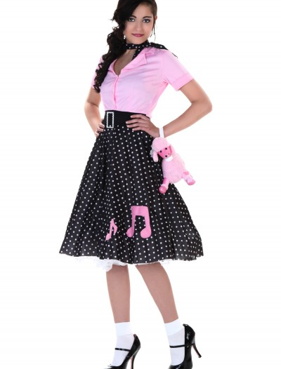 Plus Size Sock Hop Cutie Costume, halloween costume (Plus Size Sock Hop Cutie Costume)