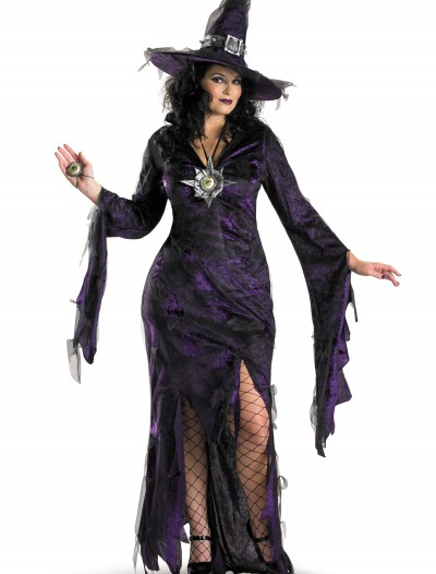 Plus Size Sorceress Costume, halloween costume (Plus Size Sorceress Costume)