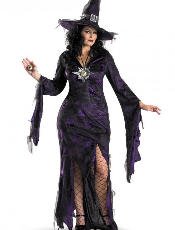 Plus Size Sorceress Costume, halloween costume (Plus Size Sorceress Costume)