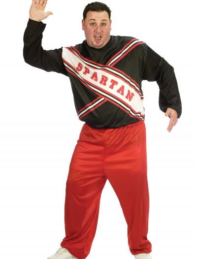 Plus Size Spartan Cheerleader Costume, halloween costume (Plus Size Spartan Cheerleader Costume)