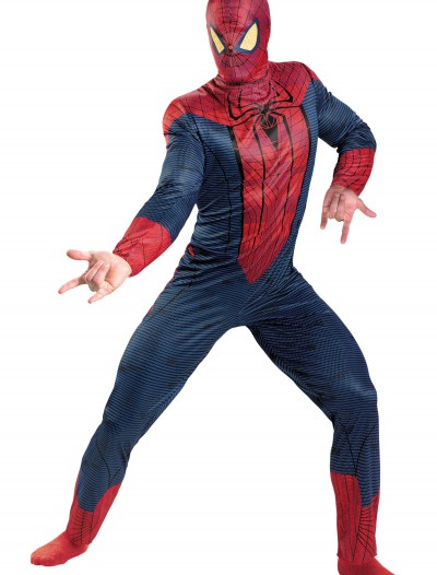 Plus Size Spiderman Movie Costume, halloween costume (Plus Size Spiderman Movie Costume)