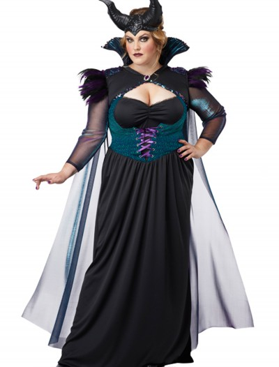 Plus Size Storybook Sorceress Costume, halloween costume (Plus Size Storybook Sorceress Costume)