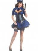 Plus Size Sultry Officer Costume, halloween costume (Plus Size Sultry Officer Costume)
