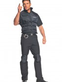Plus Size SWAT Officer Costume, halloween costume (Plus Size SWAT Officer Costume)