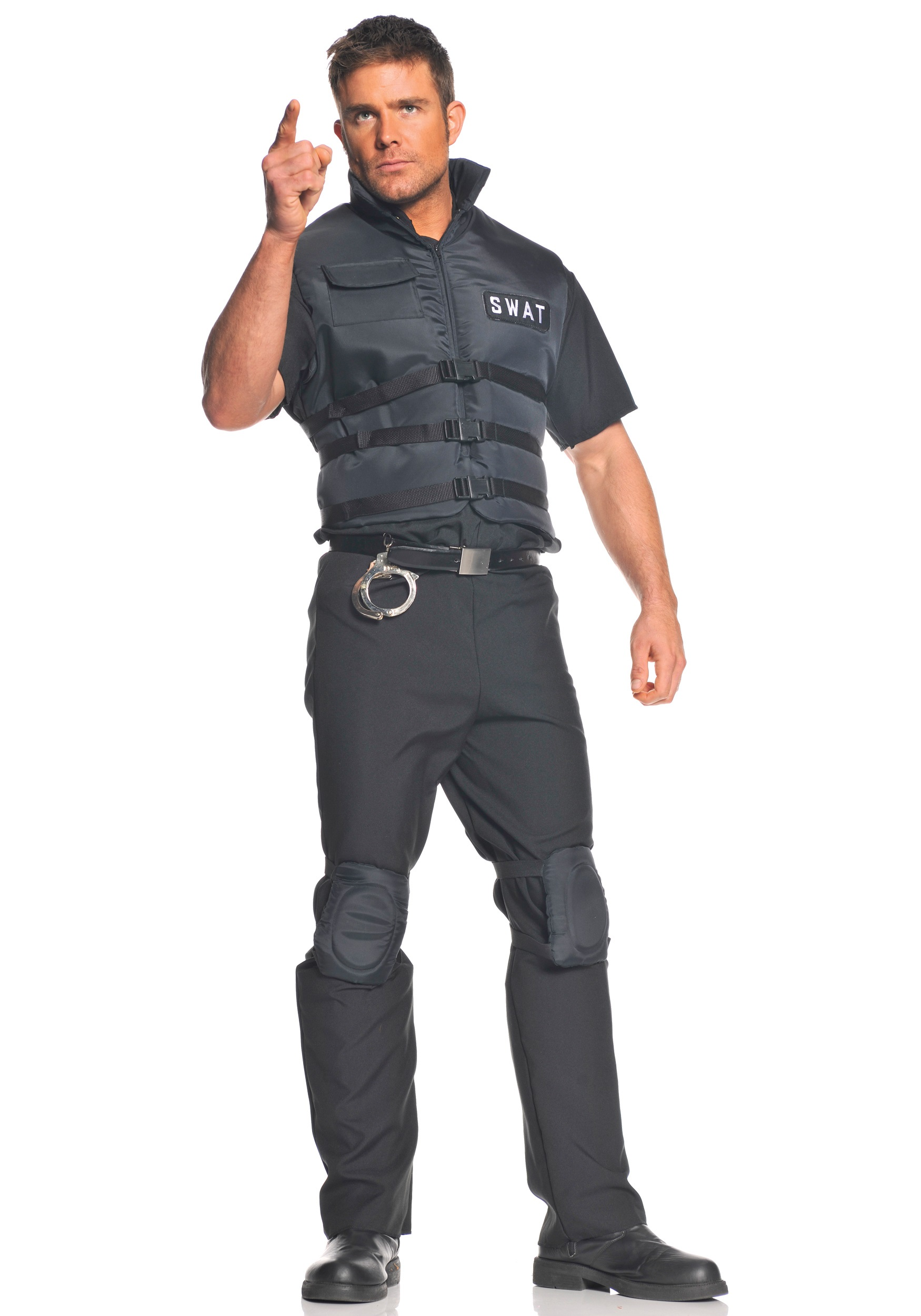 2a992c6261e Plus Size SWAT Officer Costume