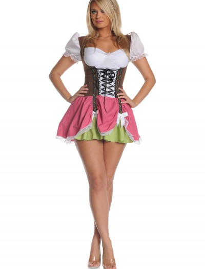 Plus Size Swiss Girl Costume, halloween costume (Plus Size Swiss Girl Costume)