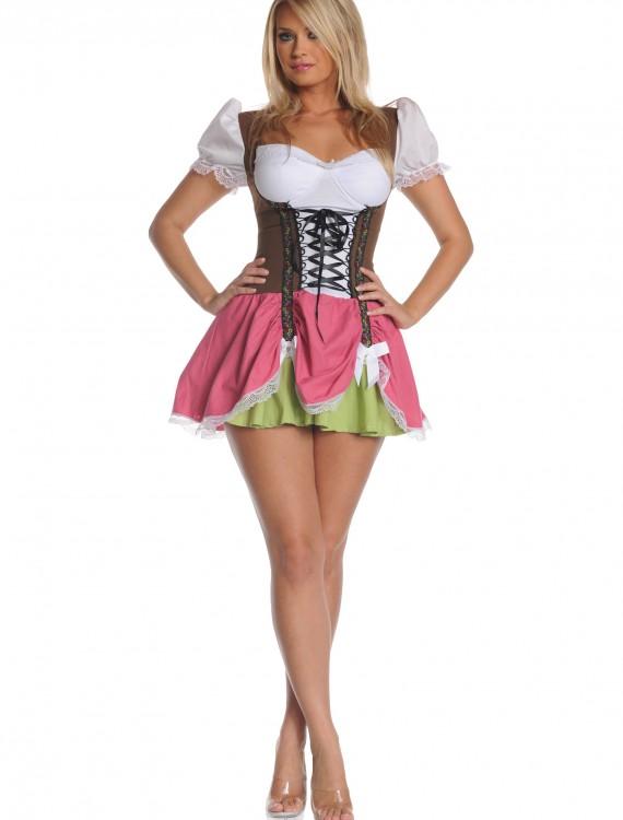 Plus Size Swiss Girl Costume, halloween costume (Plus Size Swiss Girl Costume)