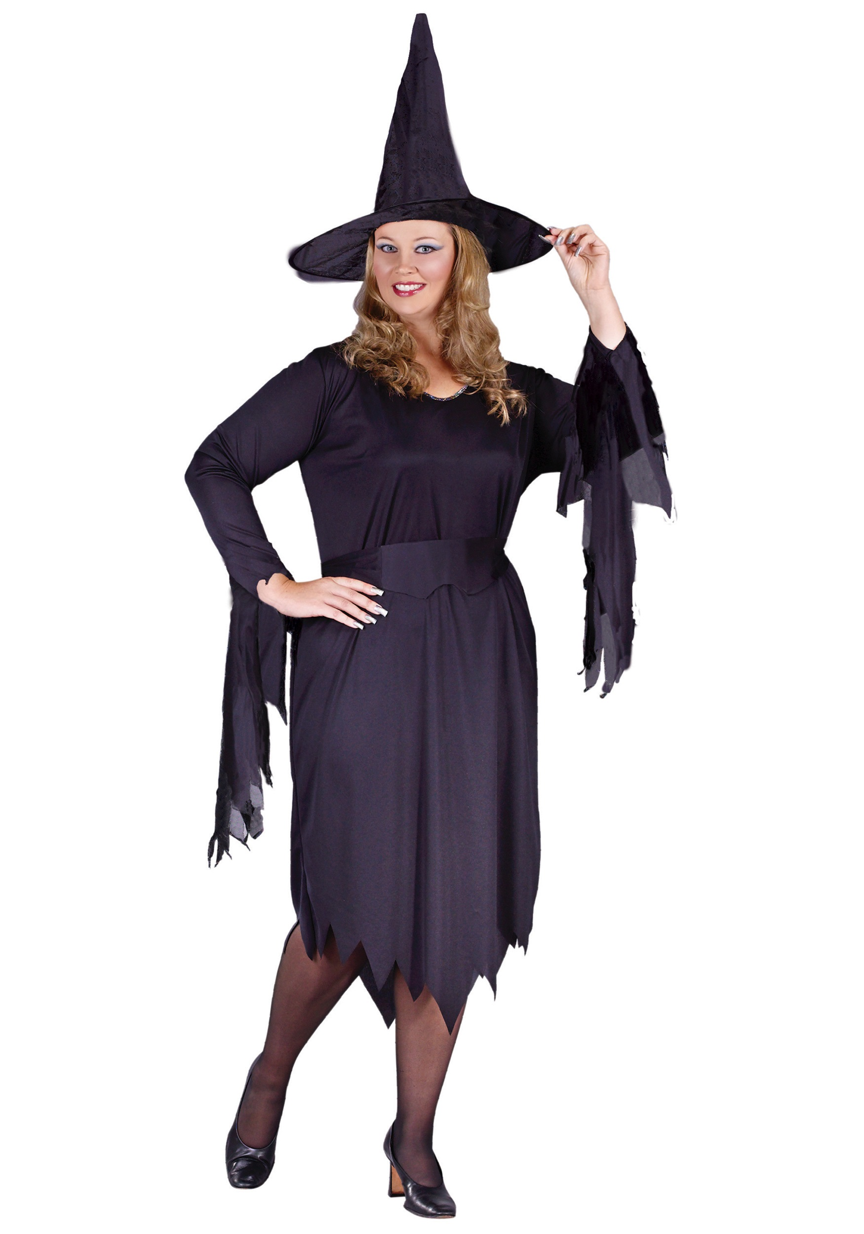Plus Size Tattered Witch Costume  sc 1 st  Halloween Costumes & Plus Size Tattered Witch Costume - Halloween Costumes