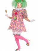 Plus Size Tickles the Clown Costume, halloween costume (Plus Size Tickles the Clown Costume)