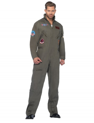 Plus Size Top Gun Jumpsuit, halloween costume (Plus Size Top Gun Jumpsuit)