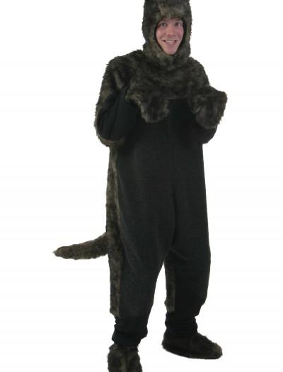 Plus Size Black Dog Costume, halloween costume (Plus Size Black Dog Costume)