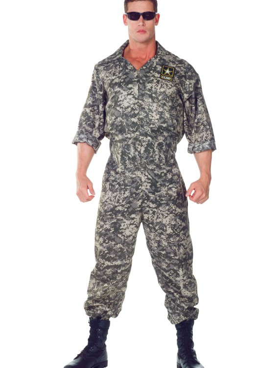 Plus Size U.S. Army Jumpsuit, halloween costume (Plus Size U.S. Army Jumpsuit)