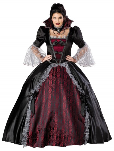 Plus Size Versailles Vampiress Costume, halloween costume (Plus Size Versailles Vampiress Costume)