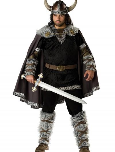 Plus Size Viking Warrior Costume, halloween costume (Plus Size Viking Warrior Costume)
