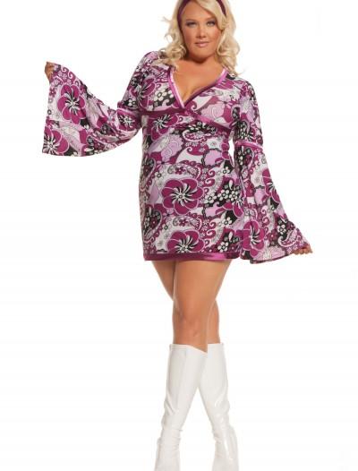Plus Size Vintage Vixen Costume, halloween costume (Plus Size Vintage Vixen Costume)