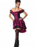 Plus Size Violet Dance Hall Queen Costume, halloween costume (Plus Size Violet Dance Hall Queen Costume)