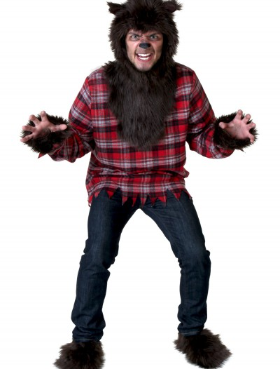 Plus Size Werewolf Costume, halloween costume (Plus Size Werewolf Costume)