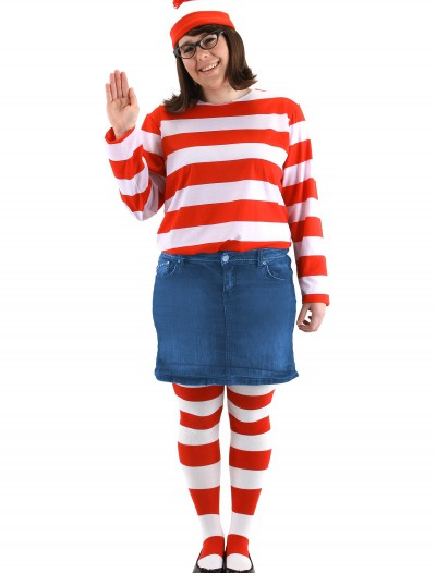 Plus Size Where's Wenda Costume, halloween costume (Plus Size Where's Wenda Costume)