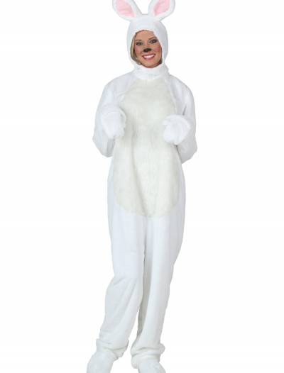 Plus Size White Bunny Costume, halloween costume (Plus Size White Bunny Costume)