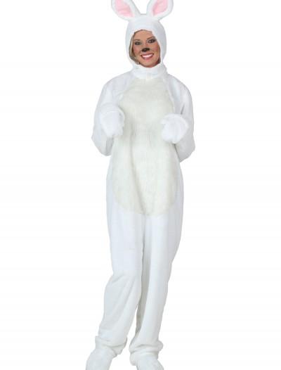 Plus Size White Bunny Costume, halloween costume (Plus Size White Bunny Costume)