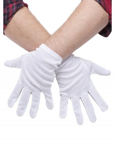Plus Size White Gloves, halloween costume (Plus Size White Gloves)