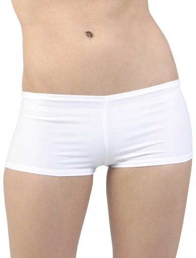 Plus Size White Hot Pants, halloween costume (Plus Size White Hot Pants)