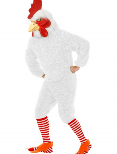 Plus Size White Rooster Costume, halloween costume (Plus Size White Rooster Costume)