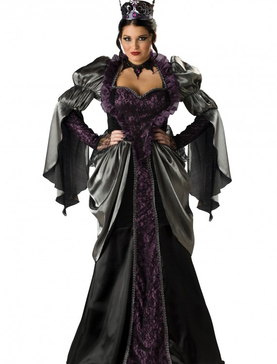 Plus Size Wicked Queen Costume, halloween costume (Plus Size Wicked Queen Costume)