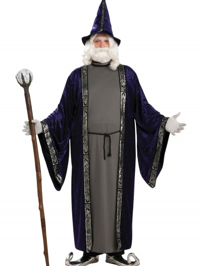Plus Size Wizard Costume, halloween costume (Plus Size Wizard Costume)