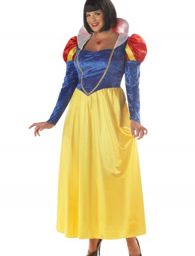 Plus Size Womens Snow White Costume, halloween costume (Plus Size Womens Snow White Costume)