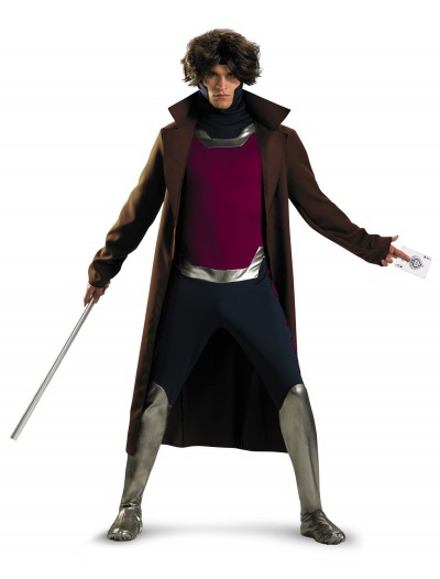 Plus Size X-Men Gambit Costume, halloween costume (Plus Size X-Men Gambit Costume)