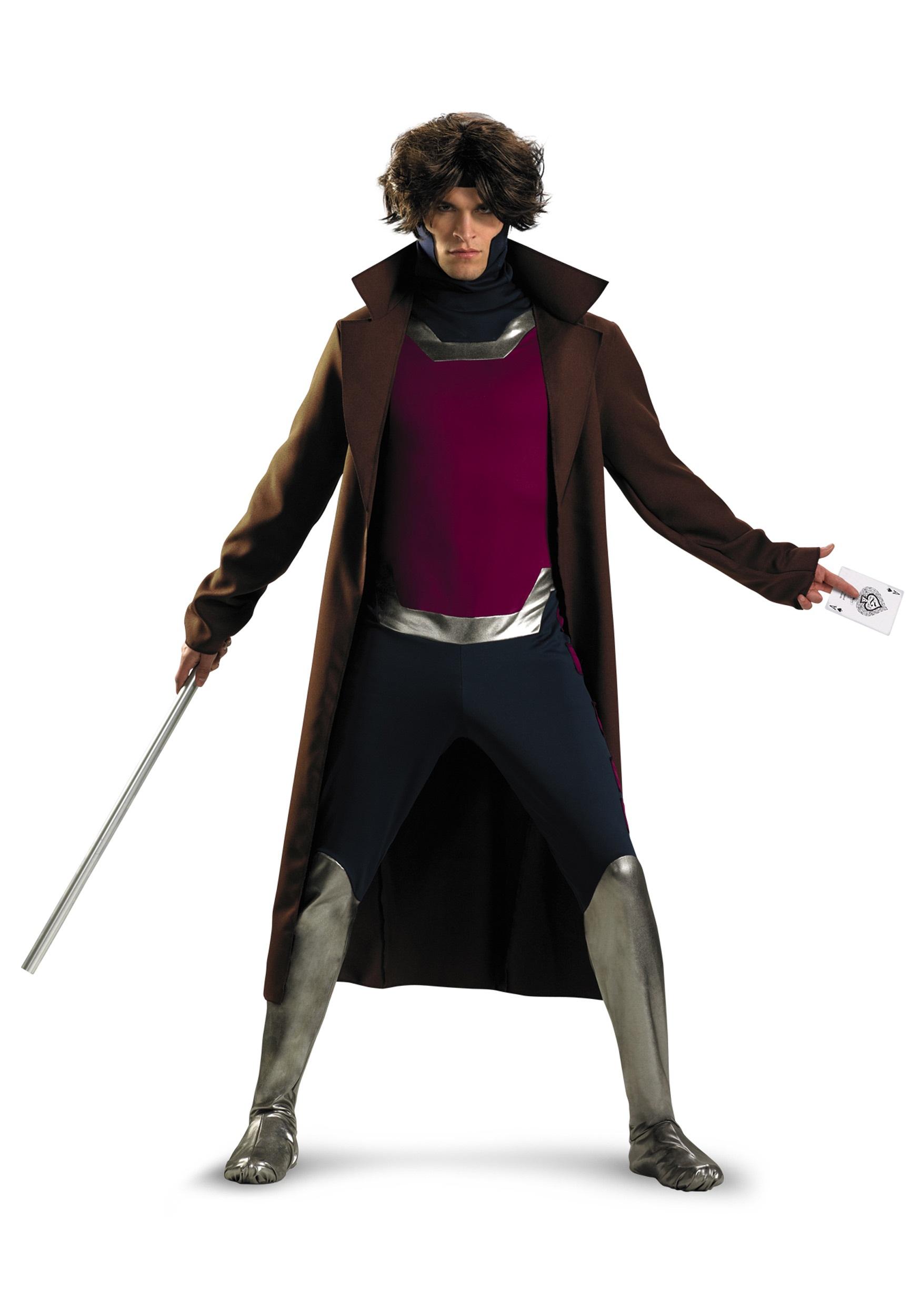 plus size x-men gambit costume - halloween costumes