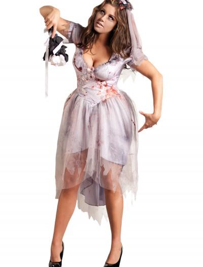 Plus Size Zombie Bride Costume, halloween costume (Plus Size Zombie Bride Costume)